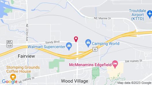Travelodge by Wyndham East Portland/Gresham Map
