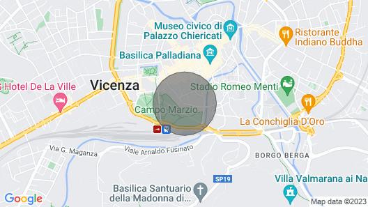 Casa Pallamaio Historic Center Vicenza Map