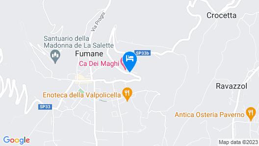 Corte Lavarini The Magic At Sight Map