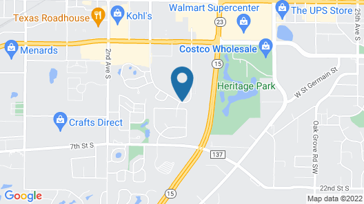 Country Inn & Suites by Radisson, St. Cloud West, MN Map