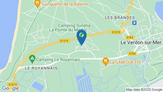 Résidence la Pointe Du Soleil Map
