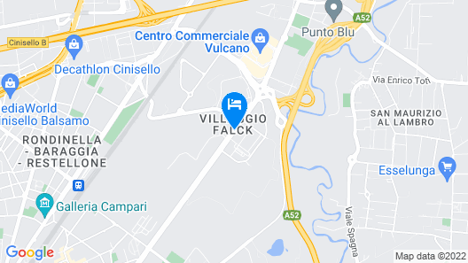 Best Western Falck Village Hotel Map