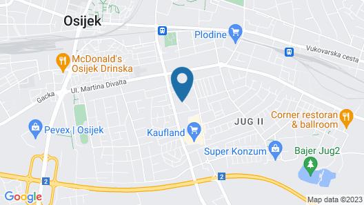 Studio Apartments Korosteljev Map