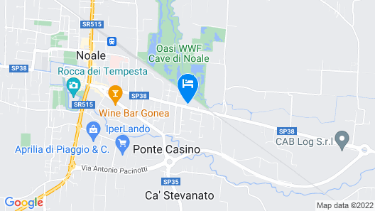 Hotel Due Torri Tempesta  Map