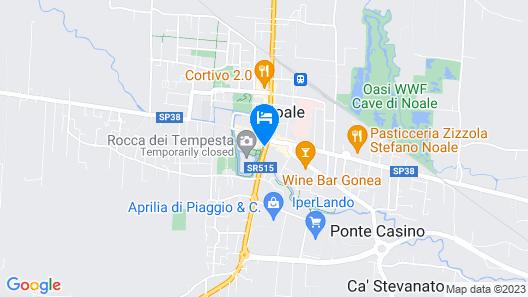 Residence Le Bugne Map