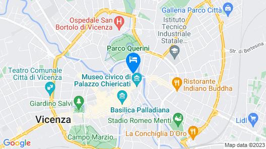 Ca' Lou al Teatro Map