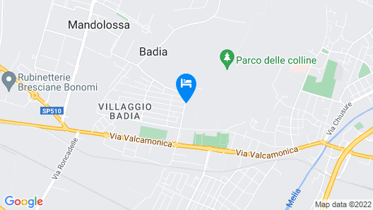 Santellone Resort Map
