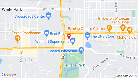 Holiday Inn Hotel & Suites - St. Cloud, an IHG Hotel Map