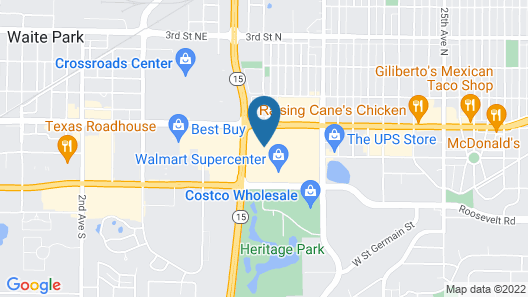 Holiday Inn Hotel & Suites - St. Cloud Map