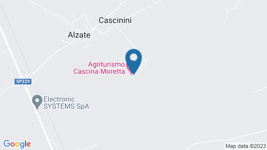 Cascina Moretta Map