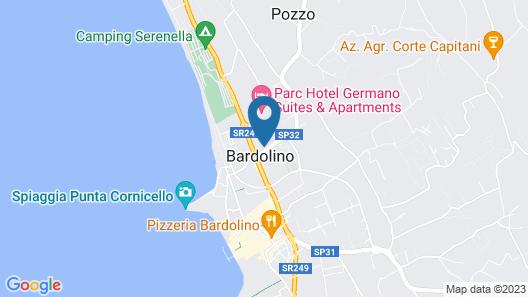Hotel al Sole Bardolino Map