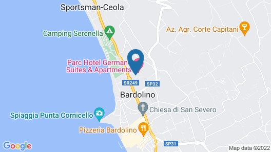 Parc Hotel Germano Suites Map