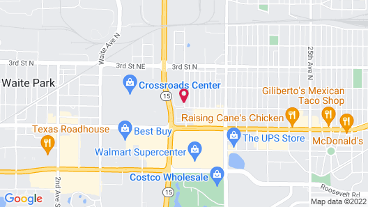 Homewood Suites by Hilton St. Cloud Map