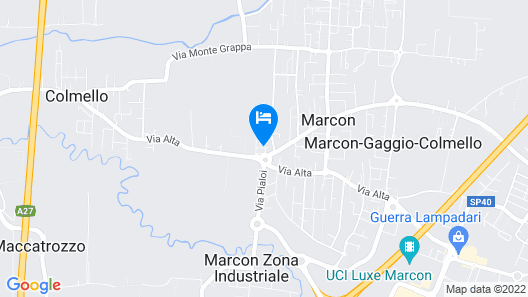Villa Daniela Map