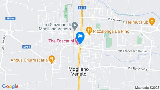 Hotel Villa Foscarini Map