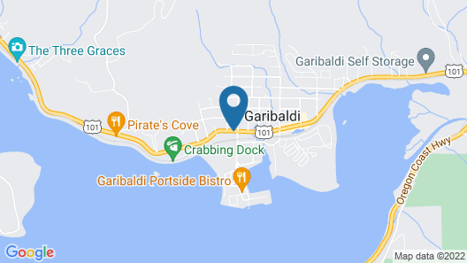 Garibaldi House Inn & Suites Map