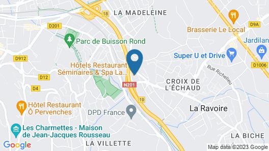 Les Cabanes de La Maison Rouge Map