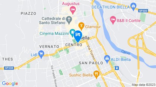 Agorà Palace Hotel Map