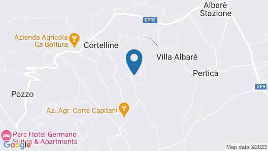 Agriturismo Ca Castellani Map