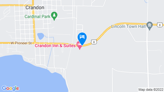 Best Western Crandon Inn & Suites Map