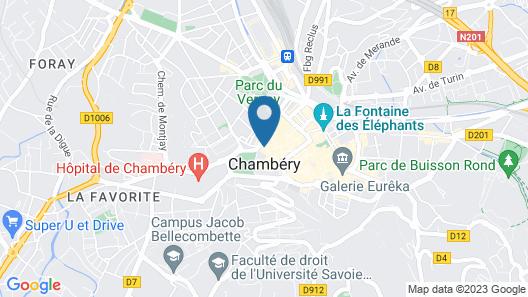 Petit Hôtel Confidentiel Map