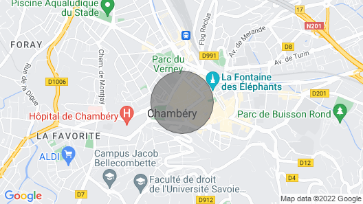 Chabod de Saint Maurice Furnished With Tourism Map