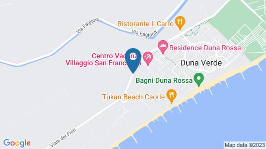 Villaggio San Francesco - Campground Map