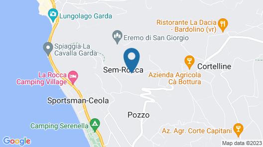 Agriturismo La Rocca Map
