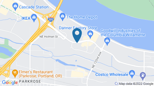 SpringHill Suites by Marriott Portland Airport Map