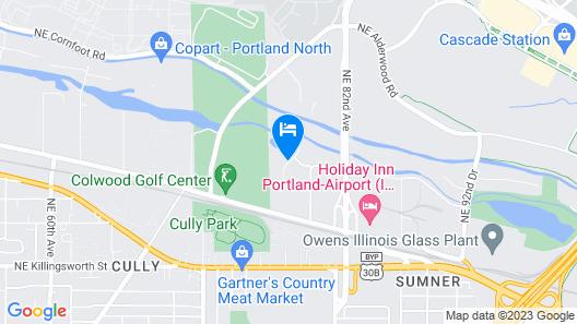 Radisson Hotel Portland Airport Map