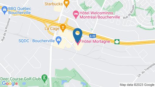 Hotel Mortagne Map