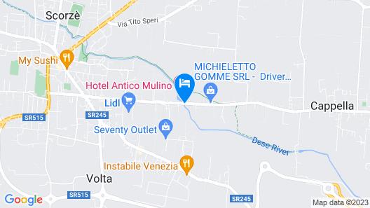 Antico Mulino Map