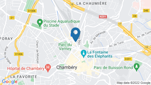 ibis Styles Chambery Centre Gare Map