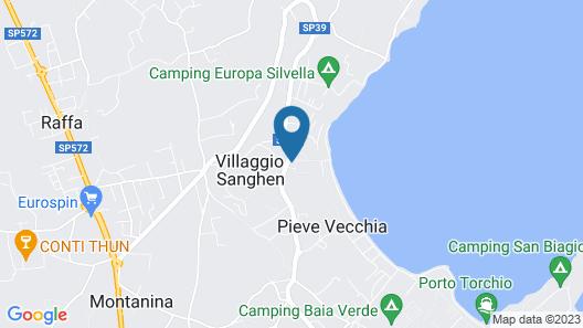Residence Onda Blu Map