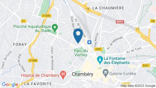 Le Refuge Renoir Map