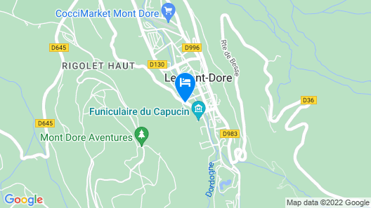 Hôtel Le Panorama Map