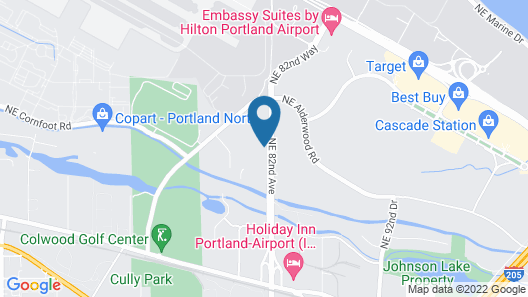 Home2 Suites by Hilton Portland Airport OR Map