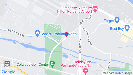 Country Inn & Suites by Radisson, Portland International Airport, OR Map