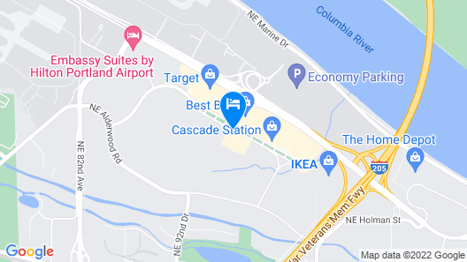Hyatt Place Portland Airport Map