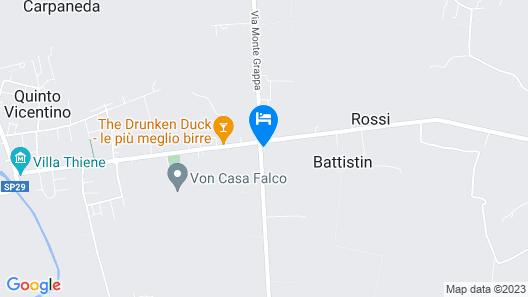Agriturismo Sartori Terenzio Map