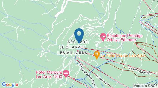Résidence Pierre & Vacances Premium Les Alpages de Chantel Map