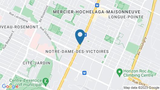 Hôtel Le Chablis Map