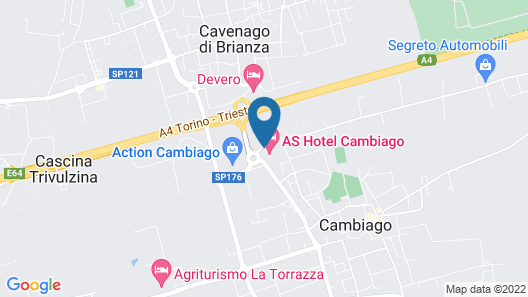 AS Hotel Cambiago Map
