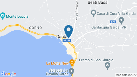 Sky Pool Hotel Sole Garda Map