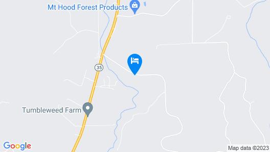 Bigfoot Lodge B & B Map