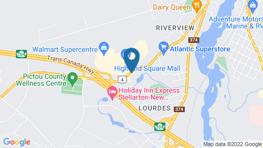 Travelodge Suites by Wyndham New Glasgow Map