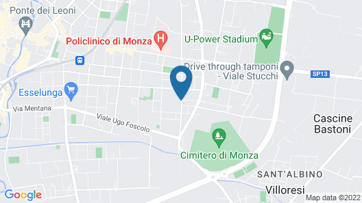 Residence Le Querce Monza Map