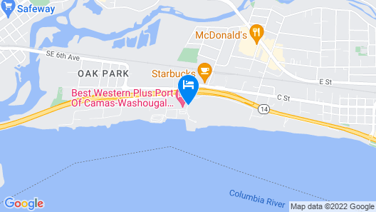 Best Western Plus Parkersville Inn & Suites Map