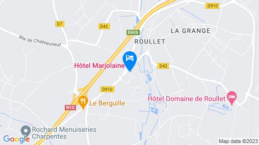 Hôtel Marjolaine Map