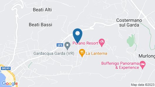 Poiano Garda Resort Hotel Map